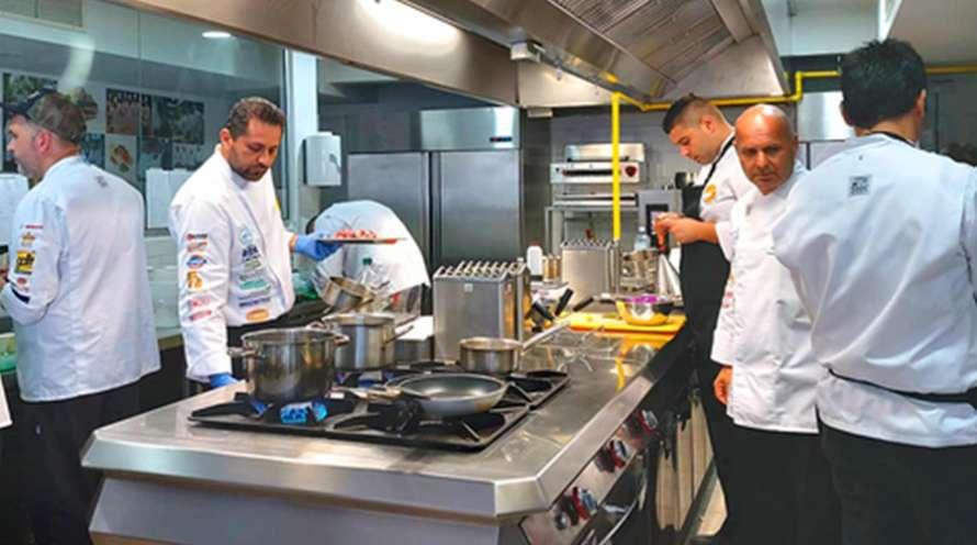 Cyprus Chefs Association - National Culinary Team Training