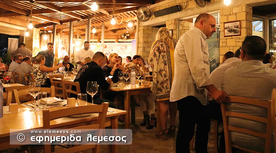 Cyprus Chefs Association - Charity Dinner of October 2019