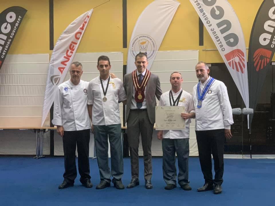 Cyprus Chefs Association - 19th Exhibition Gastronomia Horeca 2019