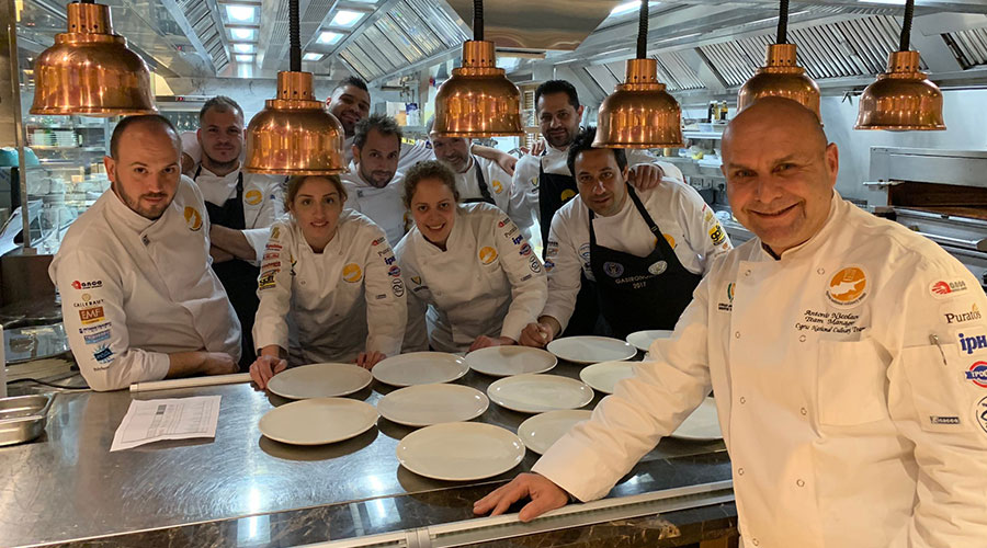 Cyprus Chefs Association - Formal Dinner January 2020