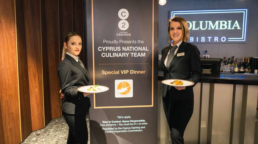 Cyprus Chefs Association - Formal Dinner January 2020