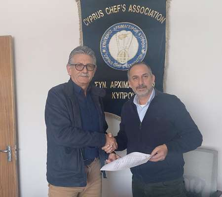 Cyprus Chefs Association - Petrou Bros Dairy Products Ltd Sponsorship